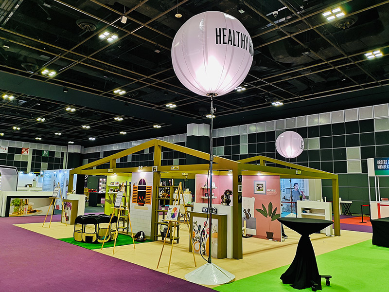 Exhibition Booth Rental : Exhibition rent vs customization of booth
